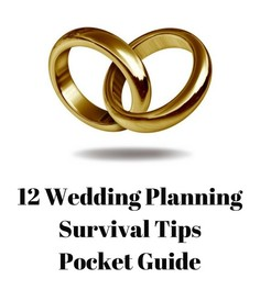 12 Wedding Planning Survival Tips Pocket Guide www.ManhattanMFT.com